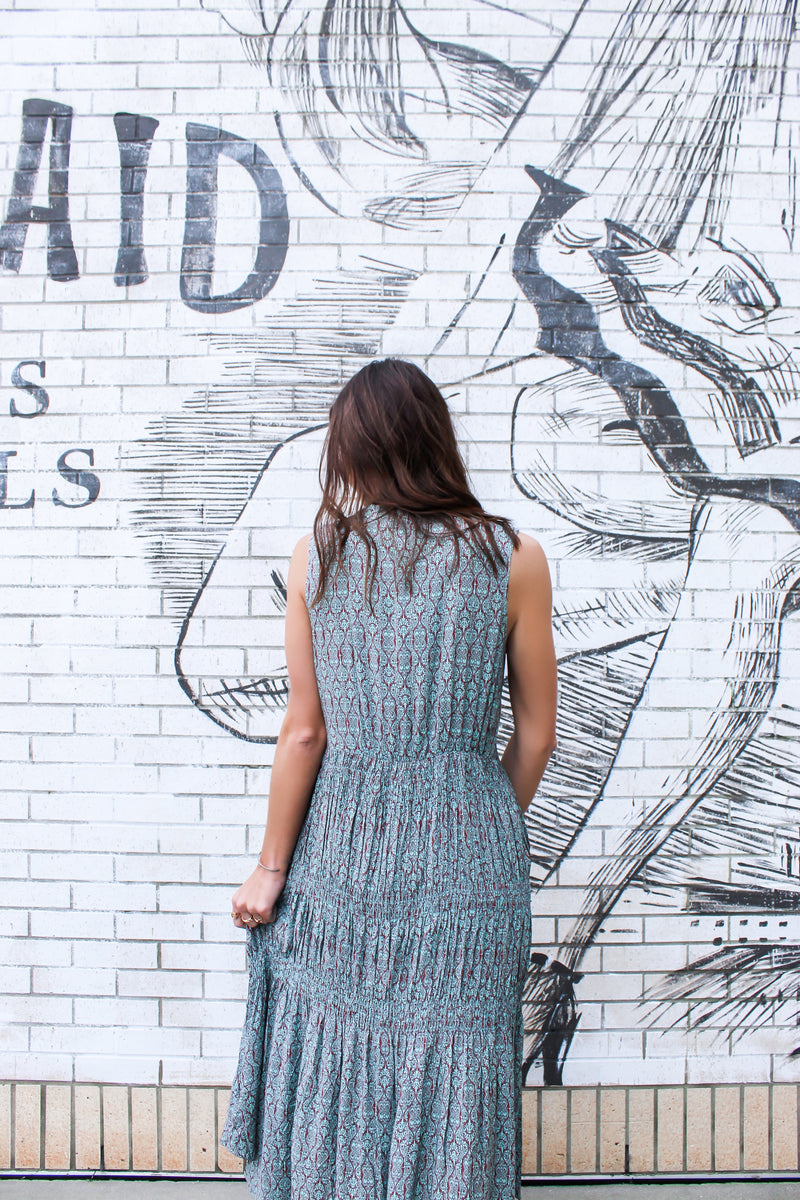 NOTHING BUT A GOOD TIME MAXI DRESS