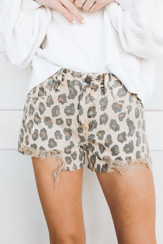 FREE PEOPLE - BAILEY DENIM MINI SKIRT - WHITE