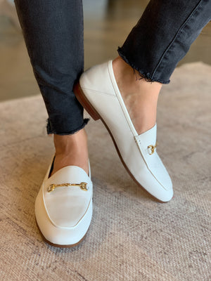 SAM EDELMAN - LORAINE - WHITE LEATHER