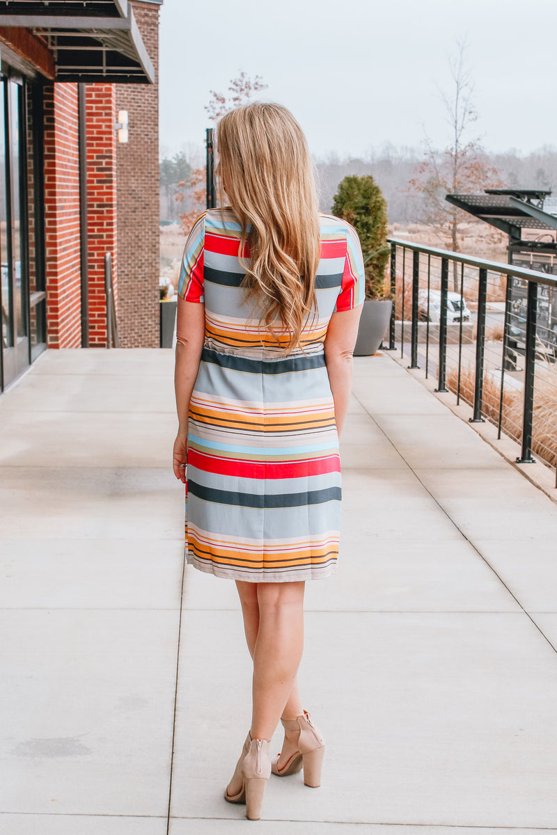 STRIPE ME PRETTY DRESS