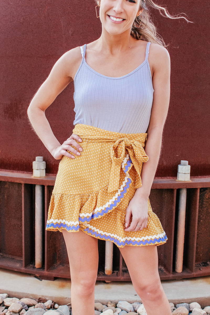 OH SUNNY DAY WRAP SKIRT