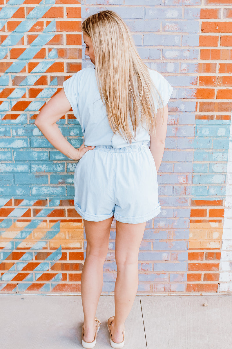 JEANIE IN A BOTTLE ROMPER
