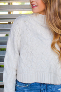 FREE PEOPLE SUGAR AND SPICE SWEATER