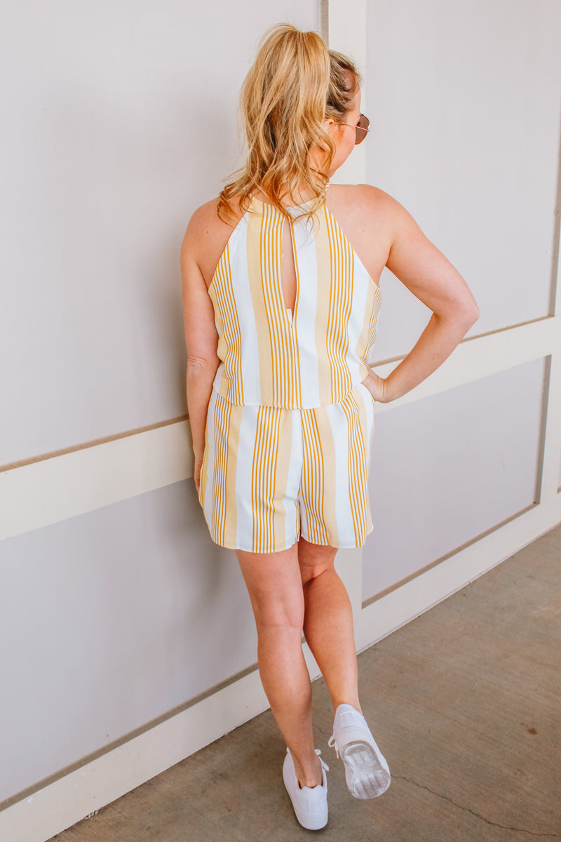 GOOD AS GOLD ROMPER