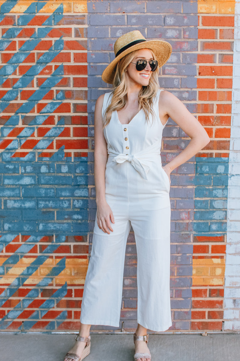 SUMMERS IN TUSCANY JUMPSUIT