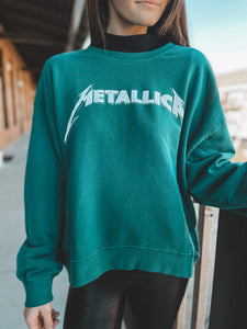 METALLICA OVERSIZED SWEATSHIRT