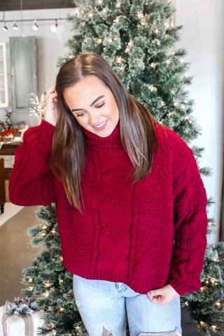 MRS. CLAUS CARDIGAN