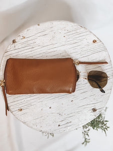 SPARK GLASSES CASE - TOFFEE