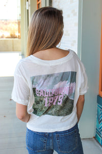 FREE PEOPLE CALIFORNIA 1975 TEE