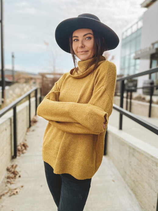 RAY OF SUNSHINE SWEATER