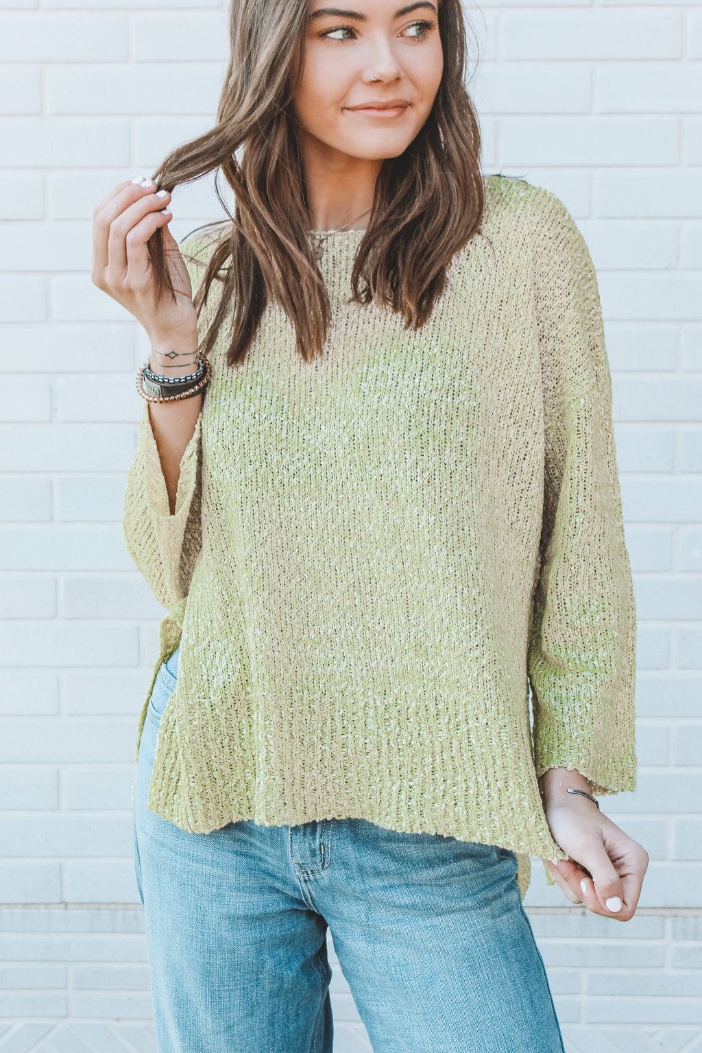VAMP IT UP KNIT SWEATER