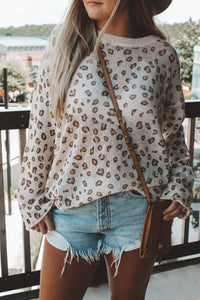 THE PAINTED LEOPARD SWEATER