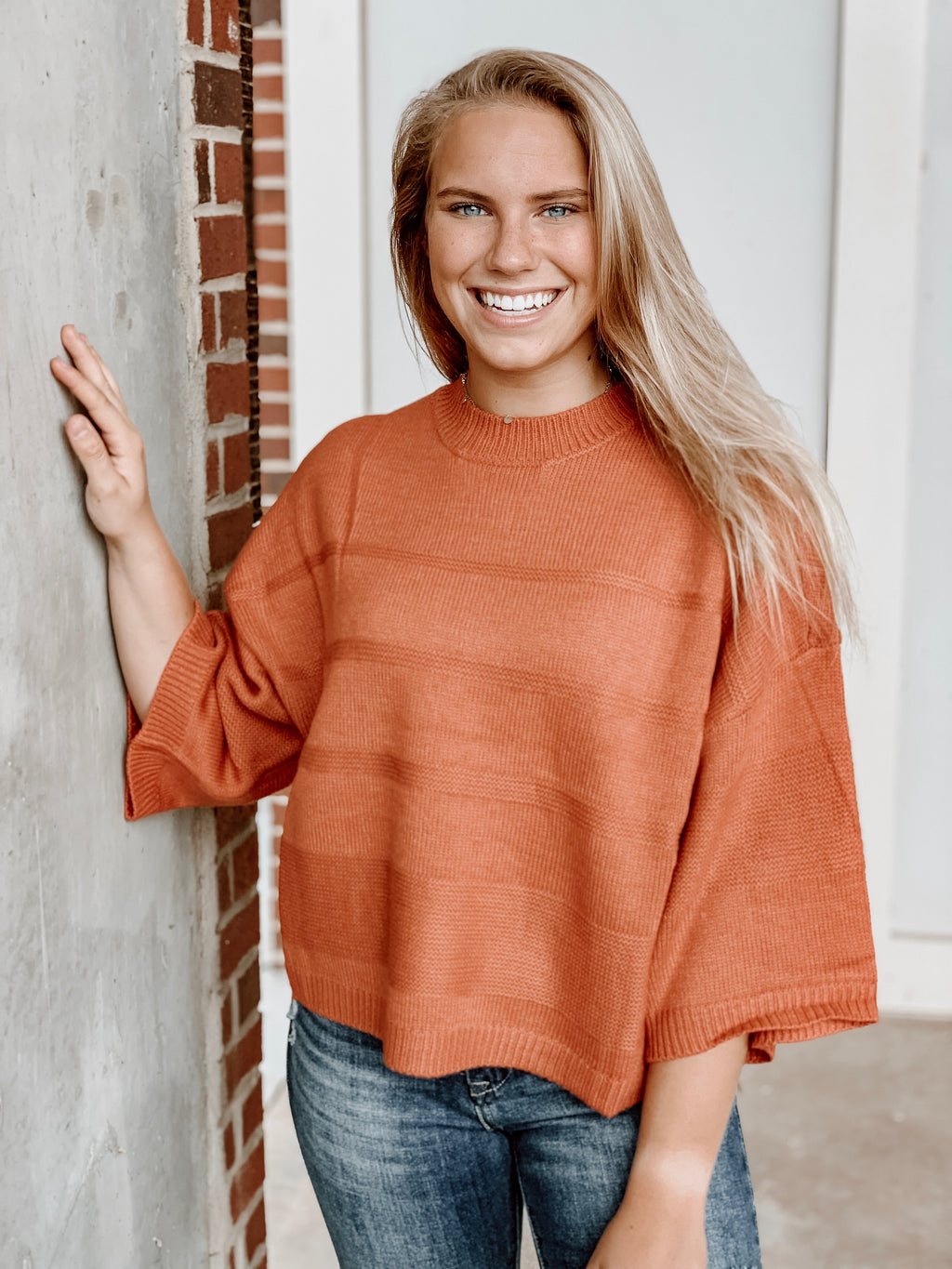 JACK BY BB DAKOTA - TUNE IN DROP OUT MOCK NECK SWEATER