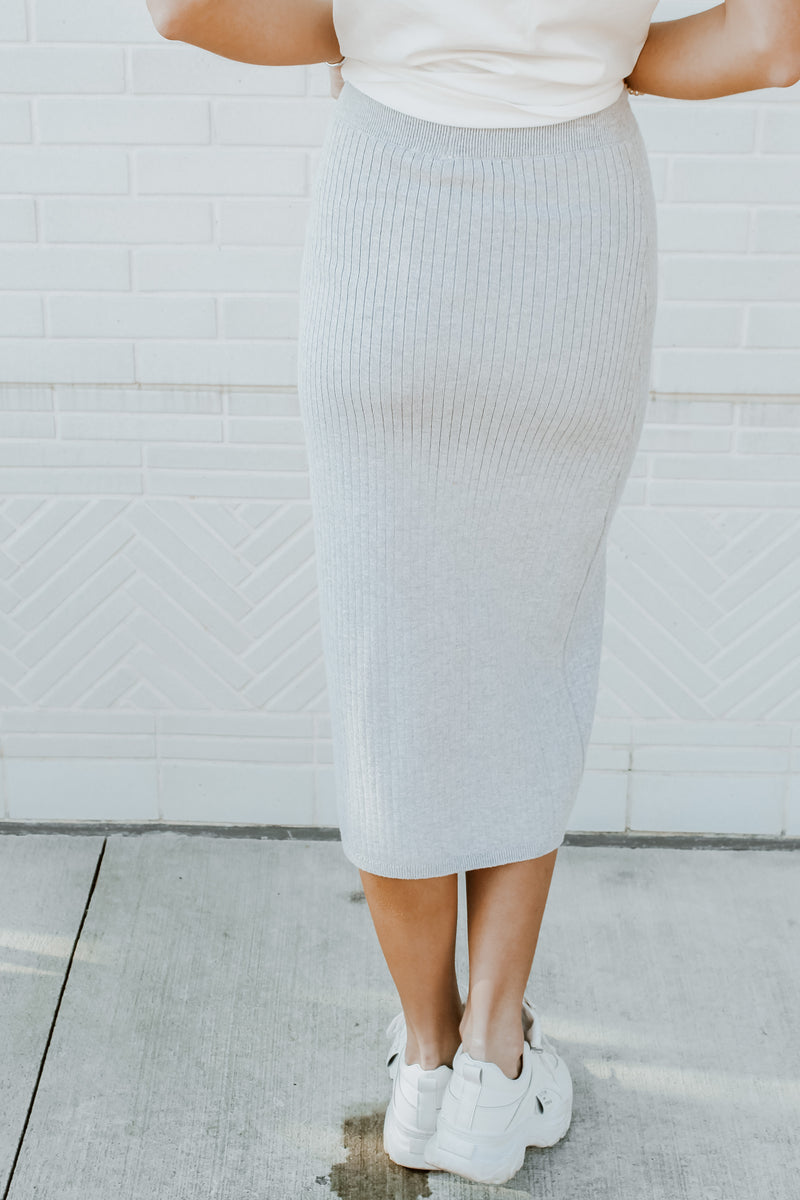 FREE PEOPLE - SKYLINE MIDI SKIRT