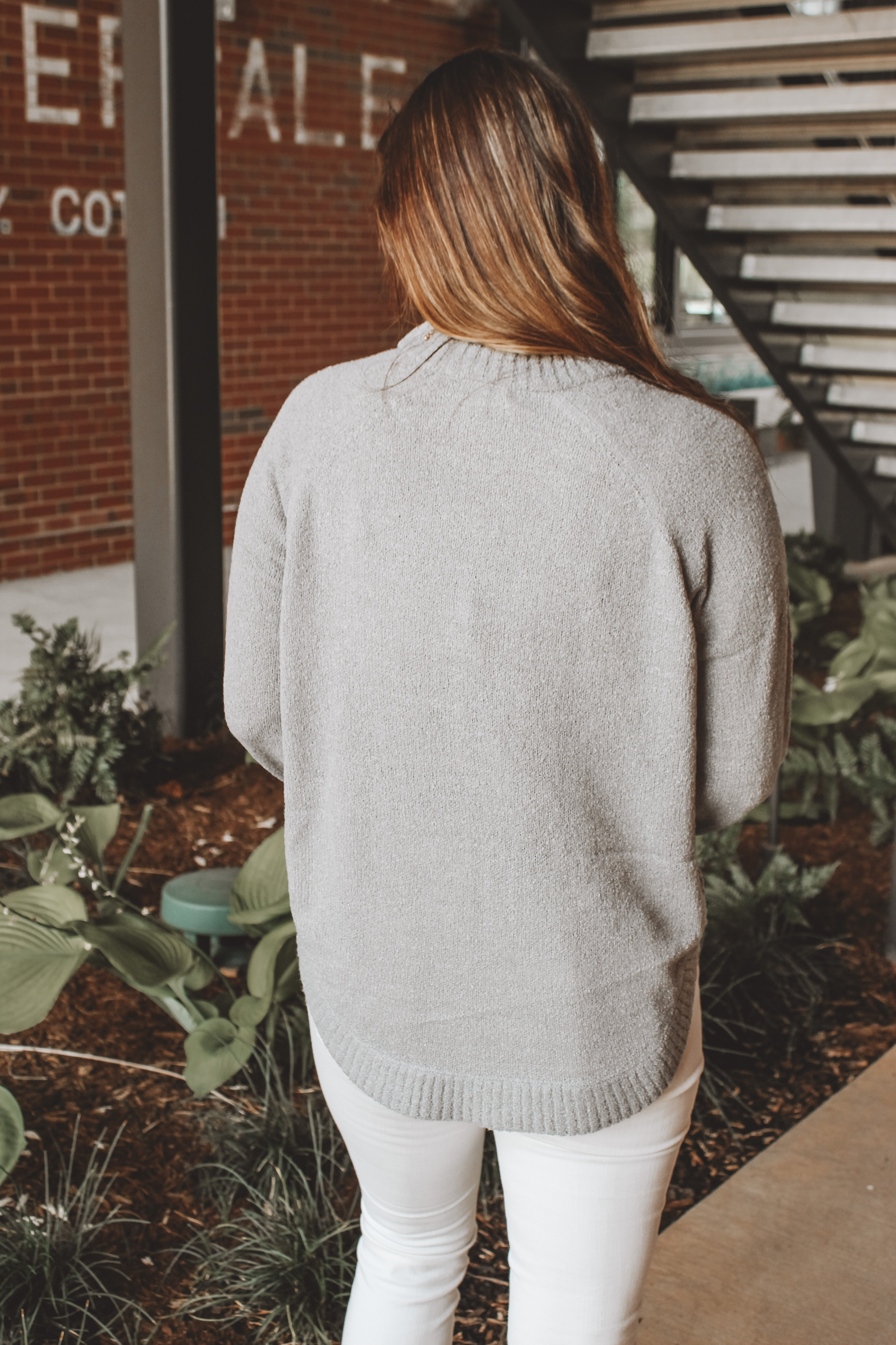 SWEETER WITH YOU SWEATER - GREY