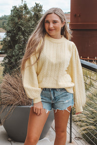 LET THE SUN SHINE SWEATER