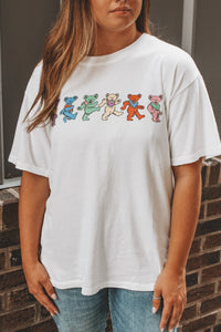THE GRATEFUL DEAD DANCING BEARS WEEKEND TEE