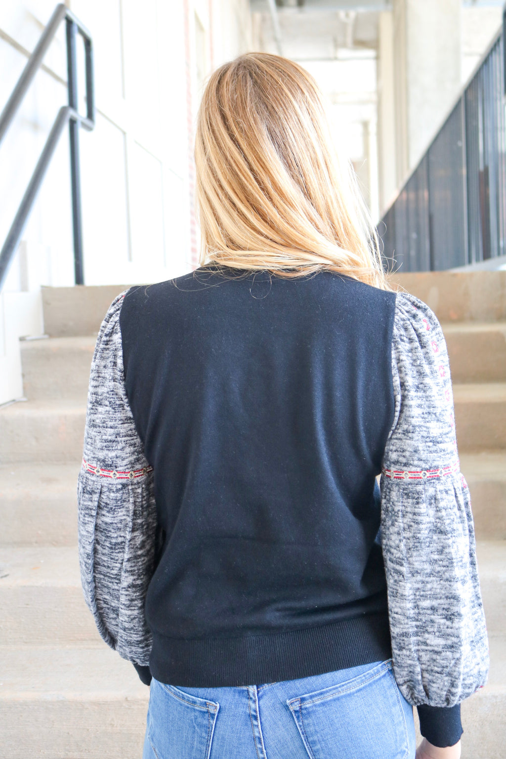 SEW LOVELY EMBROIDERED TOP