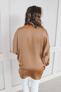 HIGH TIDE TOP - TAUPE