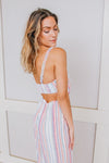 IF THE STRIPE IS RIGHT ROMPER