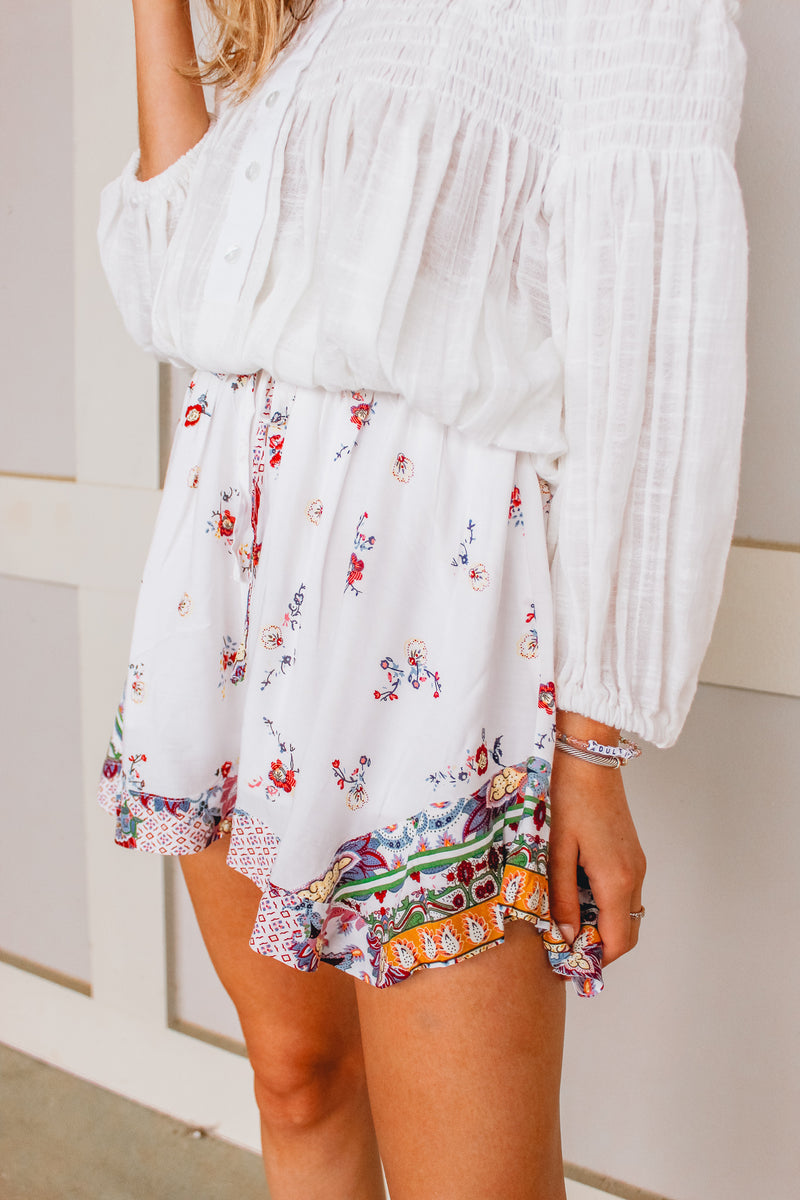 STAY WILD FLOWER CHILD SHORTS