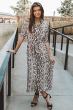 HITHER AND SLITHER MAXI DRESS