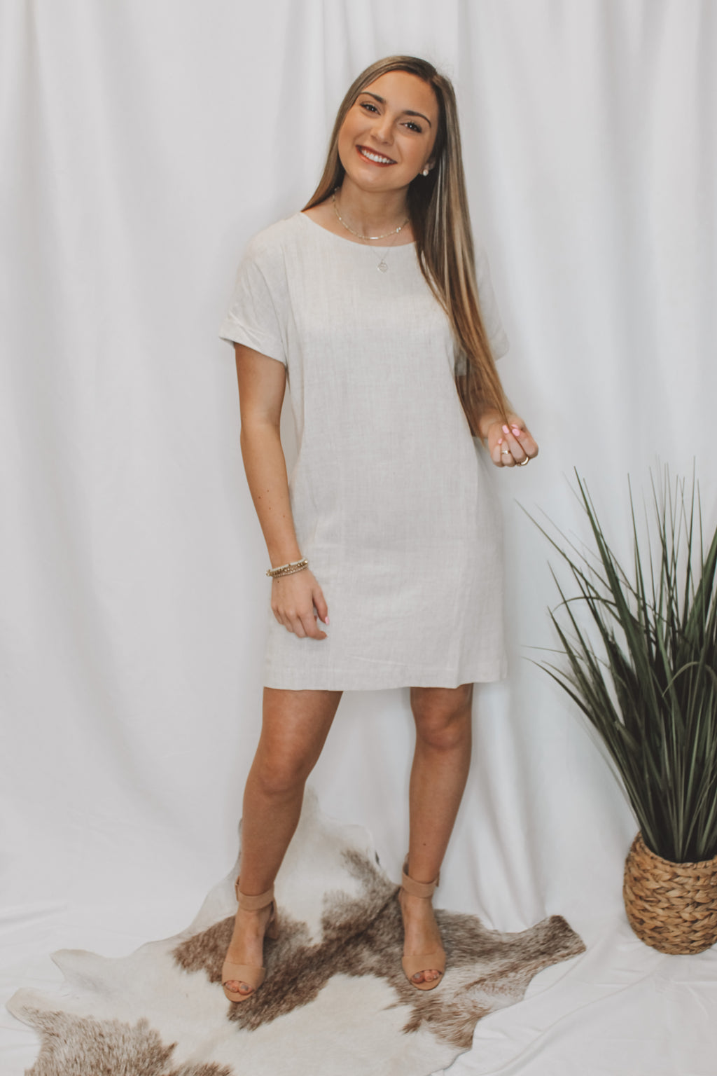 BUTTON ME DOWN DRESS