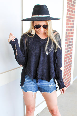 WOOL YOU BE MINE SWEATER
