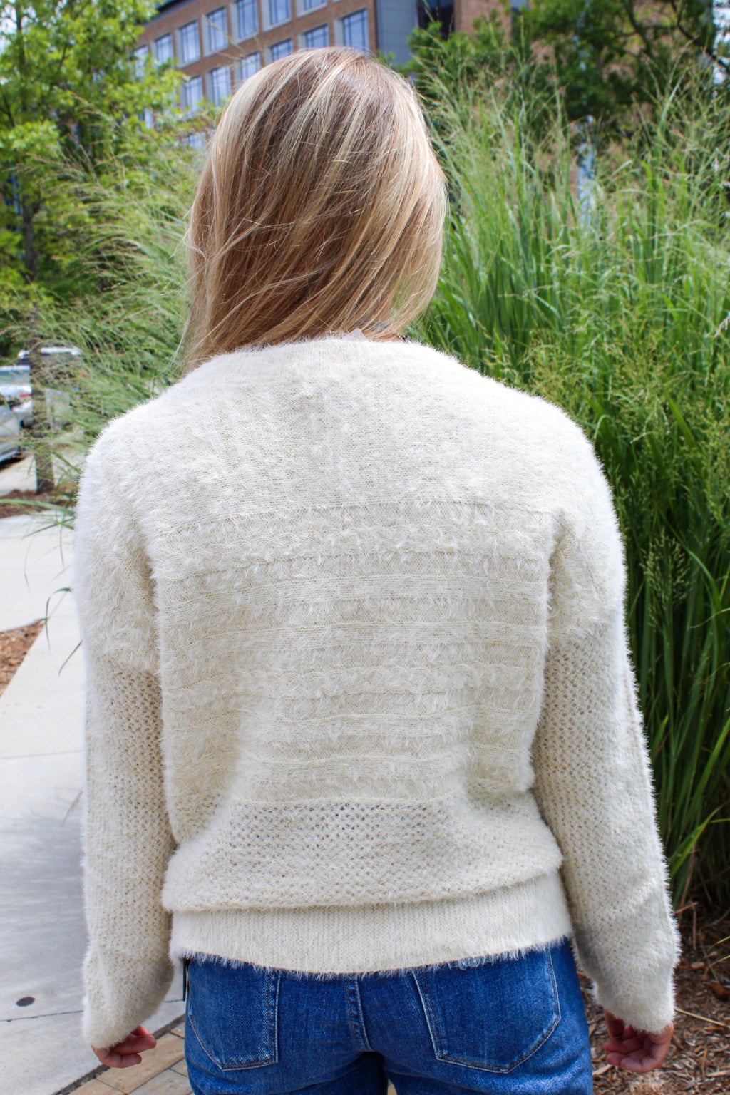 ALL THAT GLITTERS SWEATER