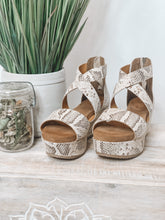 DIBA TRUE - BUSTAMOVE - TAN/BROWN SNAKEPRINT