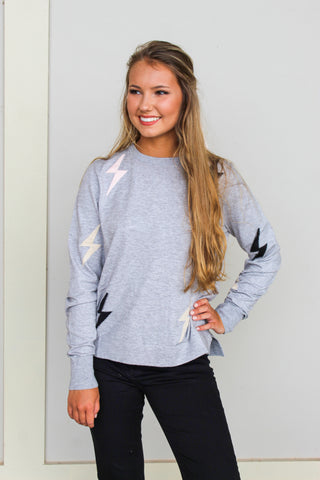 VARSITY HOODED SWEATER