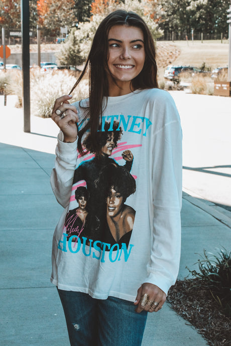WHITNEY HOUSTON DANCE WITH SOMEBODY TEE
