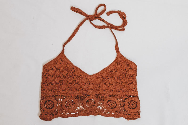CROCHET THE DAY BRALETTE - CRAYON SUNSET - FREE PEOPLE