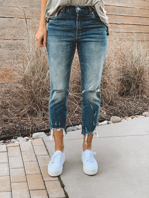 THE MADISON CROP JEAN