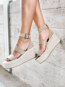 SOIRE PLATFORM WEDGES - COCONUTS BY MATISSE