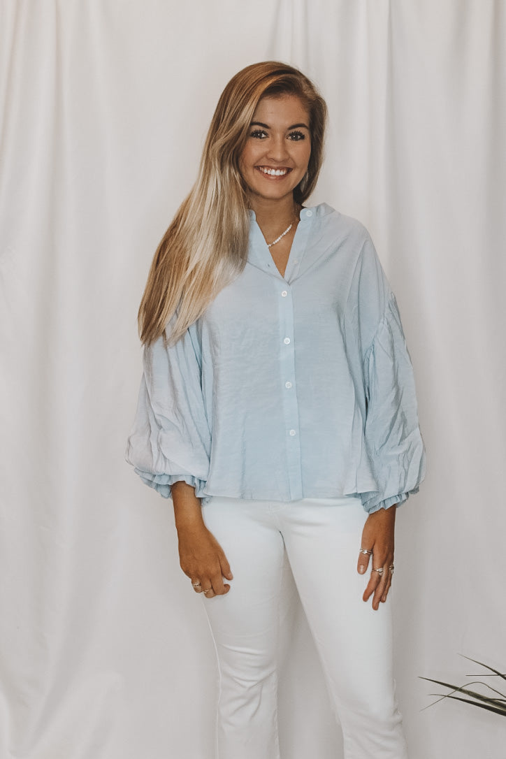 LIZZIE BUTTON DOWN BLOUSE
