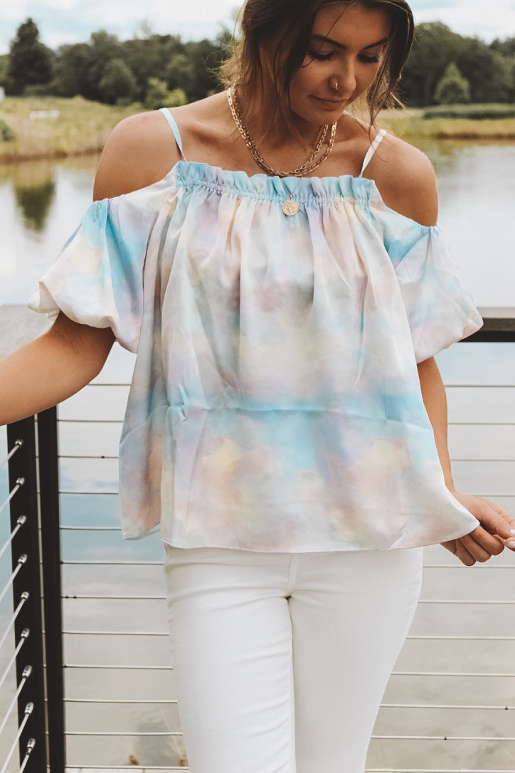 HOLOGRAPHIC BALLOON TOP