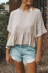 LOOKING GLASS BLOUSE - PINK