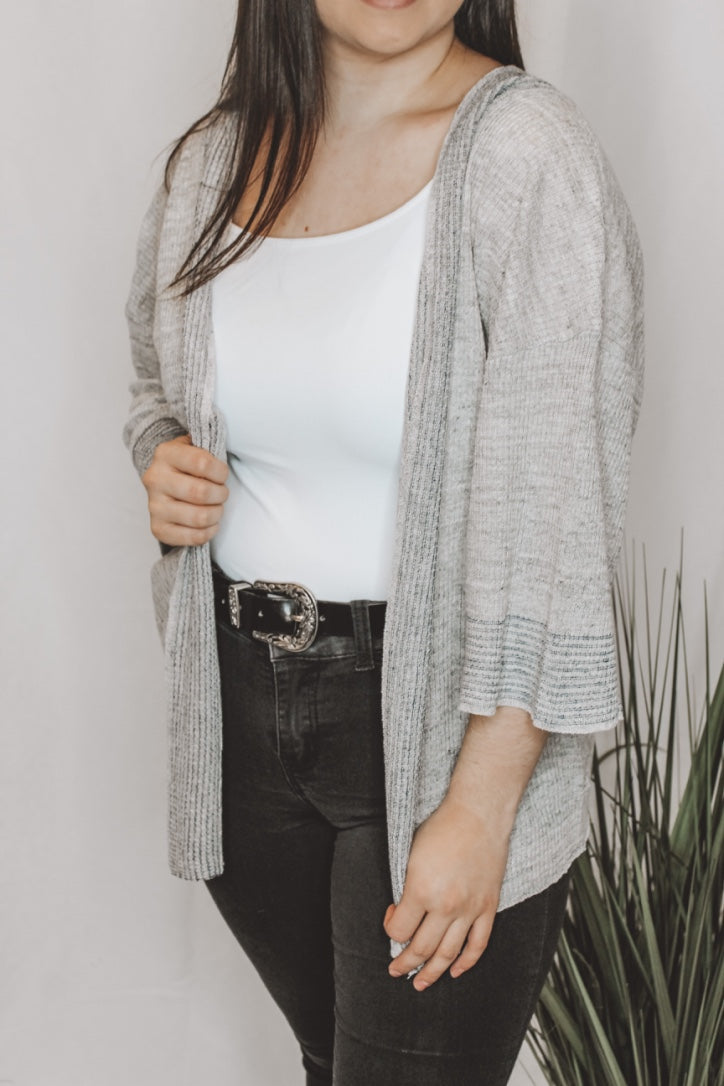 WELLNESS CARDIGAN