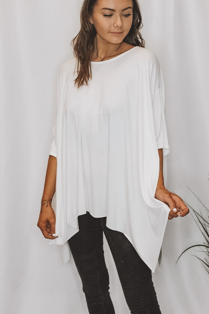 PENTHOUSE VIEW TUNIC - WHITE