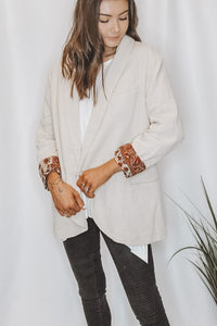 FREE PEOPLE - PAISLEY BLAZER