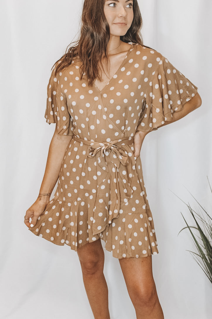 BUTTERSCOTCH BAE POLKA DOT DRESS