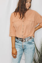 CORAL REEFIN TOP - FREE PEOPLE