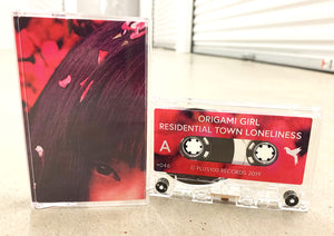 Origami Girl - Residential Town Loneliness - Clear Cassette