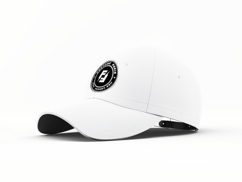 DOUBLE FLASH CAP | BLANC
