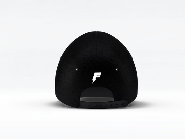 DOUBLE FLASH CAP | NOIR