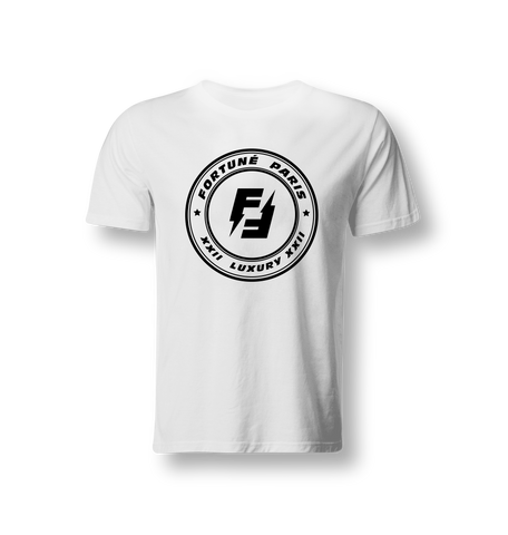 DOUBLE FLASH T-SHIRT | BLANC