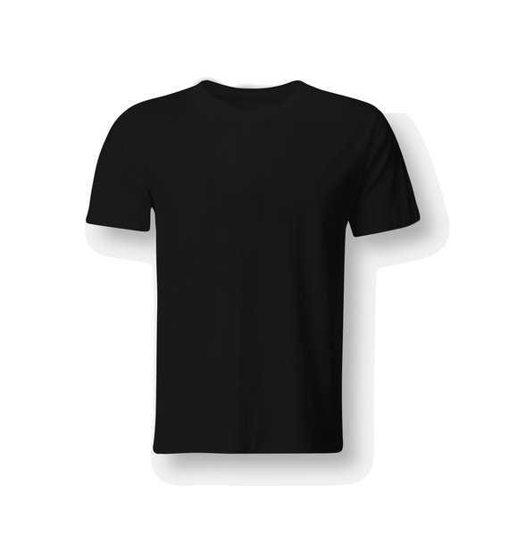 DOUBLE FLASH T-SHIRT | NOIR