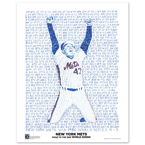 "1986 New York Mets ""Road To The World Series"""