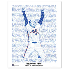 1986 New York Mets Road To The World Series